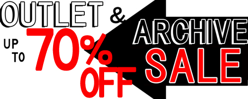 OUTLET & ARCHIVE SALE