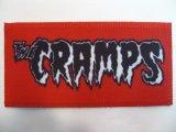 THE CRAMPS 布パッチ