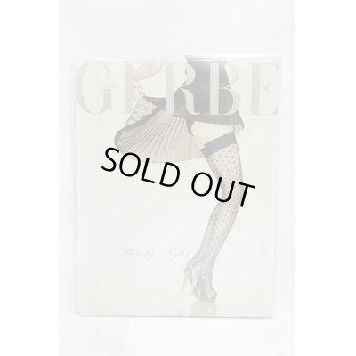 """画像2: Sale50%off 【GERBE】 """"PARIS BY NIGHT"""" ニーハイストッキング / ブラック"""