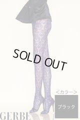 "Sale50%off 【GERBE】 ""LYRIQUE"" ストッキング / ブラック"