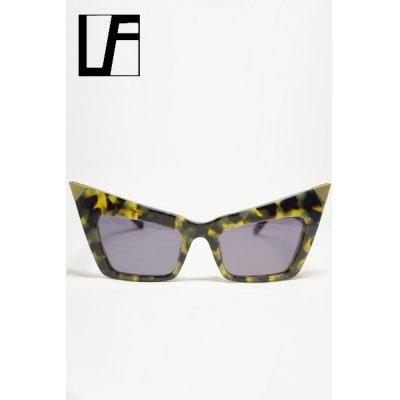 画像1: Sale50%off 【LINDA FARROW × ALEXANDER WANG】 キャットアイフレーム サングラス