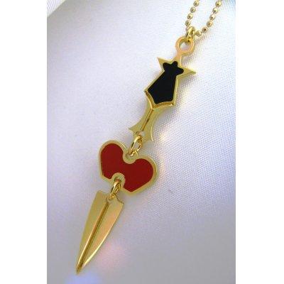 """画像2: Sale50%off 【Maria Francesca Pepe】 """"HEART+SWORD"""" チャームネックレス"""
