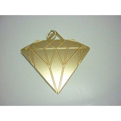 画像2: Sale70%off 【Maria Francesca Pepe】 DIAMOND PENDANT LARGE / Gold
