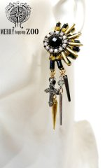 "【MERRYhoppingZOO】 ""Louis"" ピアス"