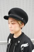 """画像2: 【KROFUNE】 """"FAUST"""" キャスケット (2)"""