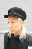 """画像5: 【KROFUNE】 """"FAUST"""" キャスケット (5)"""
