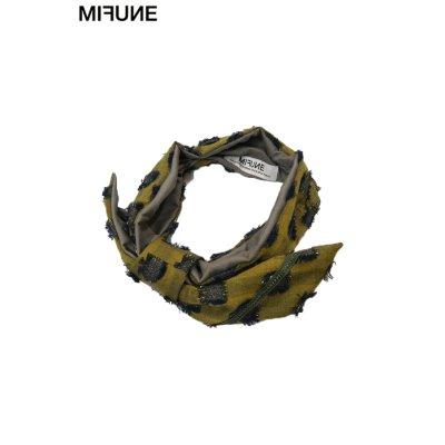 """画像1: 【MIFUNE】 """"CRAFTS LEOPARD"""" ドレスターバン"""