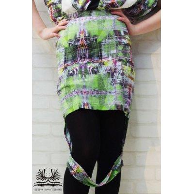 画像1: Sale50%off 【SAYMYNAME】 グラフィックタイトスカート