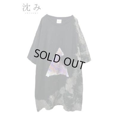 """画像1: 【沈み】 """"ワスレルナ"""" Tシャツ"""