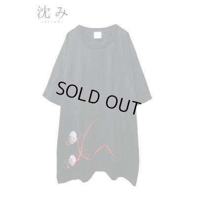 """画像1: 【沈み】 """"踊るふたり"""" Tシャツ"""