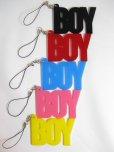 画像1: 【TEKNOPOLICE】 BOY 携帯ストラップ / 全5色 (1)