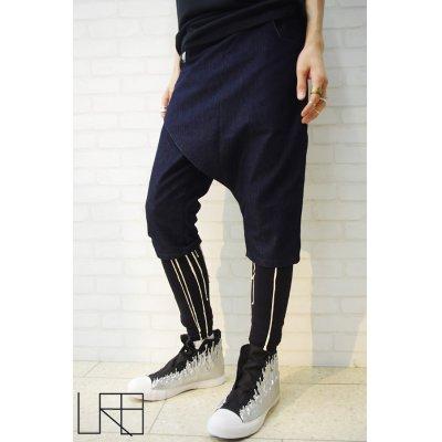 画像1: Sale50%off 【URB Clothing】 デニムハーフパンツ