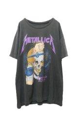 "▲ Vintage ▲ ""METALLICA"" '88 DAMAGED JUSTICE Tシャツ"