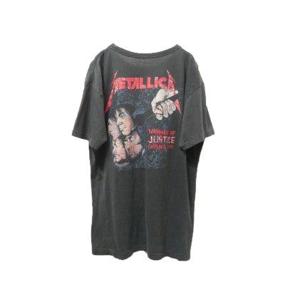 """画像2: ▲ Vintage ▲ """"METALLICA"""" '88 DAMAGED JUSTICE Tシャツ"""