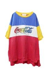 """▲ Vintage ▲ """"Coca-Cola"""" 切り替えTシャツ"""