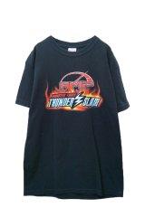 """▲ USED ▲ """"MONSTER TRUCK THUNDER SLAM"""" AMP ツアーレーシングプリントTシャツ"""