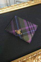 ▲USED▲【Vivienne Westwood】 チェック柄カードケース