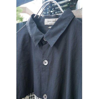 画像3: ▲USED▲【Giuliano Fujiwara】 チェック柄切り替えシャツ