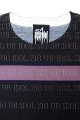 """画像5: Sale30%off 【ZIG UR IDOL】 """"ZIGBORDER"""" フルプリントカットソー (5)"""