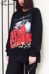 "【DEAD COMBO × ZIG UR IDOL】 ""デッドコンボ"" スウェットトップス"