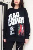 """画像1: 【DEAD COMBO × ZIG UR IDOL】 """"でっどこんぼ"""" スウェットトップス (1)"""