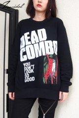 """【DEAD COMBO × ZIG UR IDOL】 """"でっどこんぼ"""" スウェットトップス"""