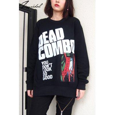 """画像1: 【DEAD COMBO × ZIG UR IDOL】 """"でっどこんぼ"""" スウェットトップス"""