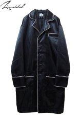【ZIG UR IDOL】 「24 hours」 ミッドナイトロングジャケット / ブラック