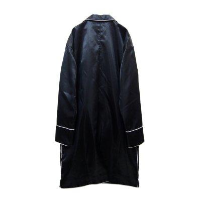 画像2: 【ZIG UR IDOL】 「24 hours」 ミッドナイトロングジャケット / ブラック