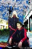 """画像9: Sale50%off 【ZIG UR IDOL】 「24 hours」 トラックジャケット / """"MODERN WESTERN""""  (9)"""