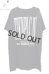 "Sale50%off 【ZIG UR IDOL】 ""ZIG UR IDOL 4 TEKNOPOLICE"" ビッグTシャツ"