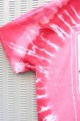 画像4: 【SADIY&KöZIY × ZIG UR IDOL】 ダルマプリントタイダイTシャツ / レッド (4)