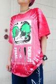 画像9: 【SADIY&KöZIY × ZIG UR IDOL】 ダルマプリントタイダイTシャツ / レッド (9)